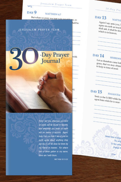 30-Day Prayer Journal